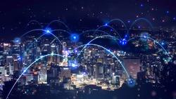 5g network mobile data transfer image