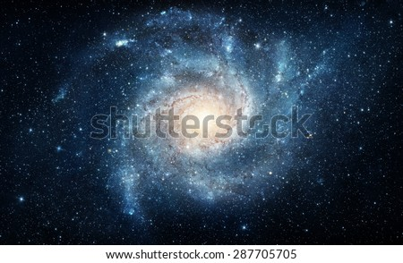 Galaxy. Elements of this image furnished by NASA. Photo stock ©