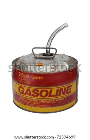 2.5 gallon gas can with pour spout