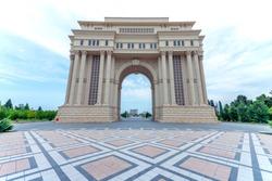 Ganja Region Azerbaijan cityscape monuments