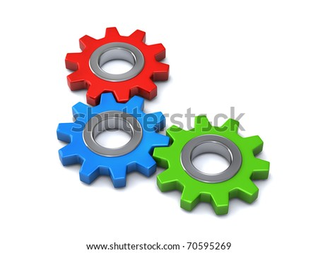 3 gears together