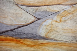 Geological visibility of sand texture