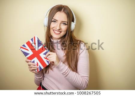 girl learn English