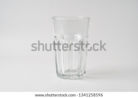 Glass High Glass Low Glass Drinking Glass #1341258596