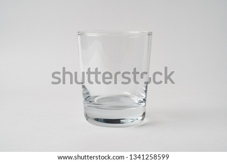 Glass High Glass Low Glass Drinking Glass #1341258599