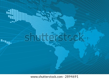earth globe map. stock photo : Globe Word Map