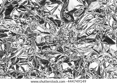 Gray foil texture for background. #444749149