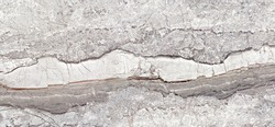 Gray travertine stone surface. Natural stone background