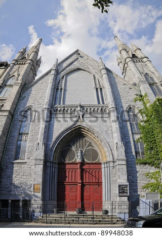 Greater Metropolitan Baptist Church, Harlem, Manhattan, New York, USA