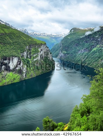 """Green Fjord"""