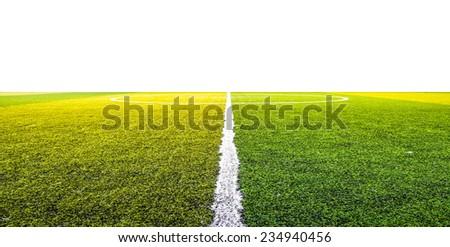 green grass for football sport, football field, soccer