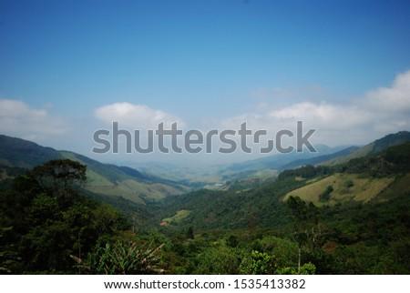 Guarau do embau in the Serra da mantiqueira border with são paulo and minas gerais