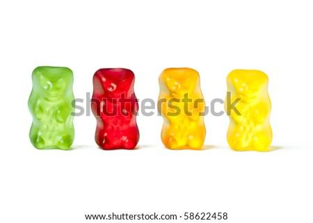 gummy bears - stock photo