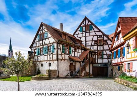 Half-timbered house in Rottenburg am Neckar