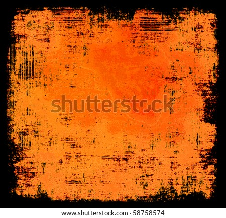 Halloween Colors Grunge Background