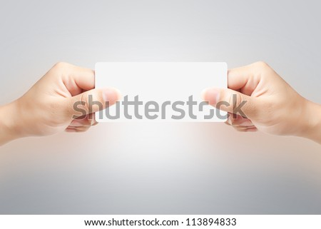 Hand of women holding sale paper label or tag on white background