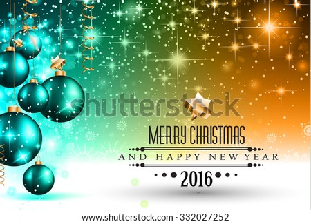 merry christmas seasonal background for your greeting cards new years flyer chrstmas dinner invitation posters and do on ez canvas