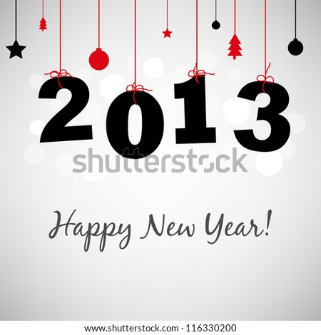 2013 Happy New Years Card