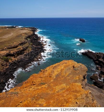 Hawaiian coast