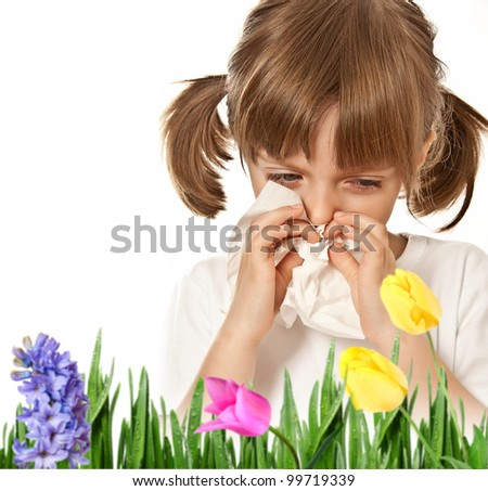 hay fever - allergic child