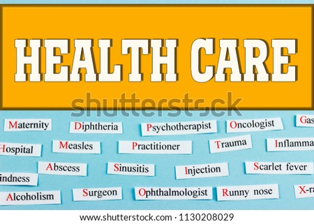 health care. medical concept