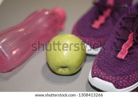 Healthy and sporty lifestyle