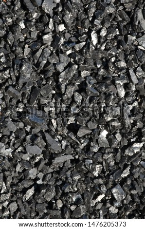 High-quality high-quality coal fine fraction anthracite with low ash content.