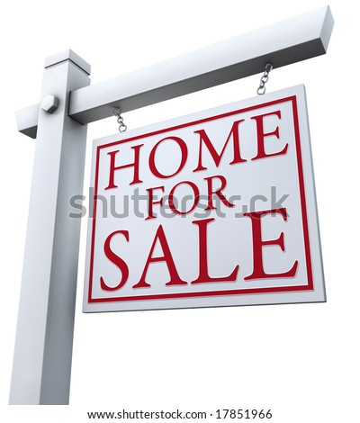 'Home for Sale' sign