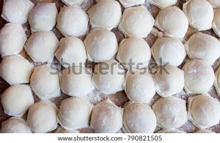 Homemade homemade ravioli #790821505