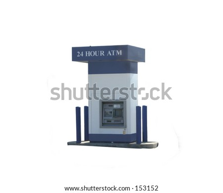 24 Hour Bank ATM
