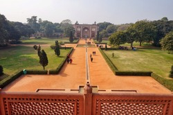 Humayun's tomb is the tomb of the Mughal Emperor Humayun in Delhi, India.