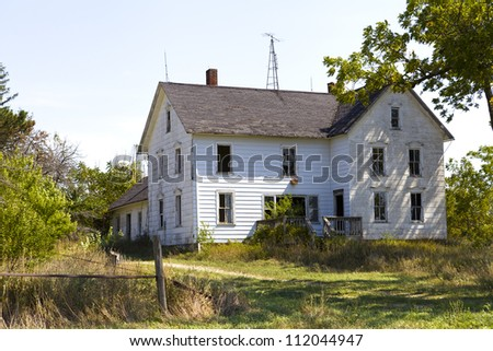 Hunted House - stock photo