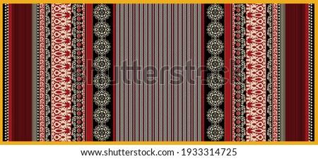 illustration blurriness effect art textile dupatta  design.textile scarf design.women face mask scarf design.textile carpet design. textile digital printed dupatta pattern.