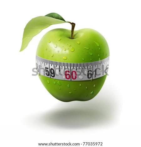 illustration. Healthy lifestyle.