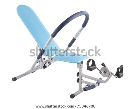 2 in 1 exercise machine one for abdominal and other function for bicycle