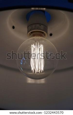 Incandescent-filament lamp, light bulb