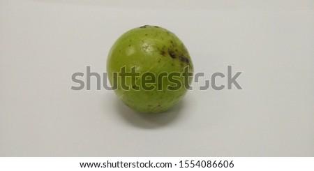 Indian gooseberry thai fruit has a sour taste.