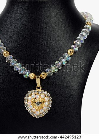Indian Traditional Necklace  #442495123