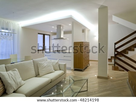 Beautiful Houses Interior on Interior Beautiful House Stock Photo 48214198   Shutterstock
