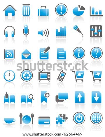 Internet / Web Icon set