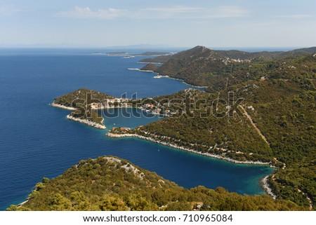 Island of Lastovo, Croatia