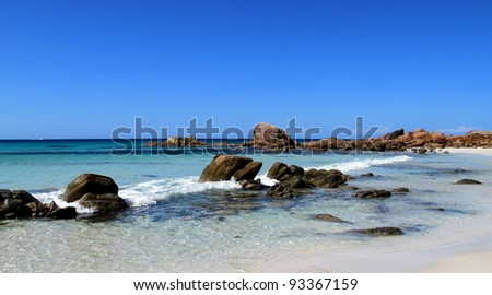 Isolated Beach of Western Australian