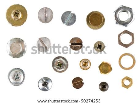 Isolated screws