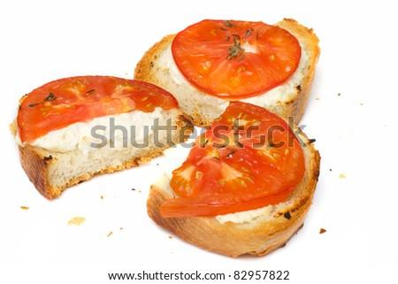 Italian bruschette