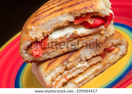 chicken panini chicken pesto panini grilled chicken panini with an ...