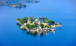 Jag Mandir is a palace built on an island in the Lake Pichola. It is also called the