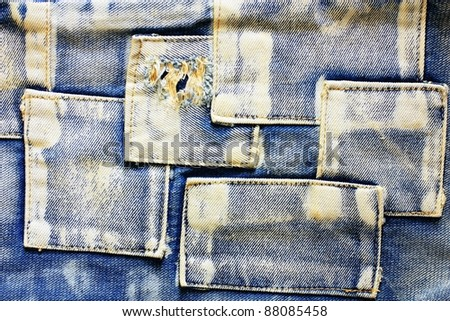 jeans cloth background.
