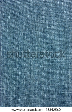 jeans texture,blue background - stock photo