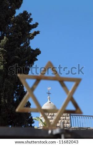 Jerusalem, a city of three religions.