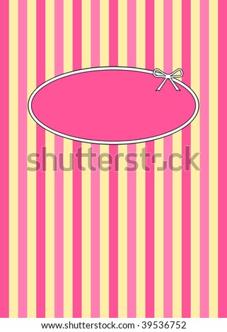 (Jpg) 1950's retro candy stripes design with copyspace. A vector version is also available.